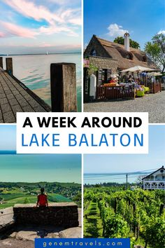Planning a trip to Lake Balaton? Here you will find different activities what to do around beautiful lake. Going there for a party in Siofok. Tasting local wine in Badacsony. Exploring local culture in charming Tihany. Having a chill beach day anywhere in Lake Balaton. Check out different things you can do during your trip around Lake Balaton. #lake #balaton #hungary #hiking #wine European Travel Tips, Europe Travel Guide, European Destination, Travelling Tips, Travel Info, Travel Abroad, Time Travel, Travel Ideas, Amazing Destinations