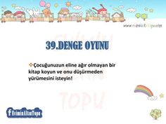 çocuklar için oyun önerileri Home Activities, Infant Activities, Pre School, Special Education, Games For Kids, Montessori, Parenting, Entertaining, How To Plan
