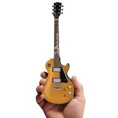 Joe Bonamassa Miniature Guitar - Joe Bonamassa Mini Guitar Goldtop #1 in Series is the first in the series of hand crafted miniature guitars representing Joe's legendary collection.