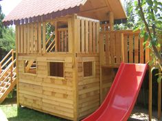 Wooden Play House 2006