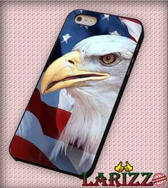 """American Black Eagle Corner for iPhone 4/4s, iPhone 5/5S/5C/6/6 , Samsung S3/S4/S5 Case """"007"""""""