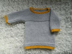 Items similar to Knit Gray Baby Sweater Tank Top Jumper Three Quarter Sleeves Bamboo And Acrylic Baby Yarn Handmade on Etsy Jumper, Sweater Tank Top, Grey Sweater, Baby Knitting, Knitting Ideas, Knit Baby Sweaters, Inspiration For Kids, Tee Shirts, Tank Tops