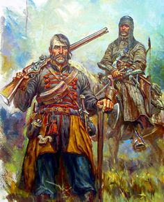 Cossack mercenaries, Thirty Years War