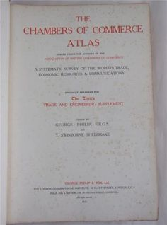 Chambers-of-Commerce-Atlas-1925-Trade-Steamships-Commodities-Maps-Industry