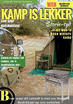 Kamp-is-Lekker-Tydskrif-April-2018: Places To Visit, Meet