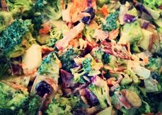 Broccoli Apple Power Up Salad Recipe -  Let's cook Broccoli Apple Power Up Salad by yourself!