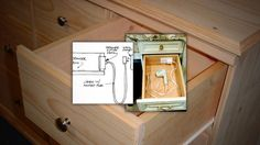 Install An Outlet In A Drawer For Convenient Gadget Charging
