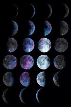 fases da lua tumblr - Google Search