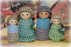 Toys - Poppie People  The Seabrook Family by EvasPlayroom on Etsy