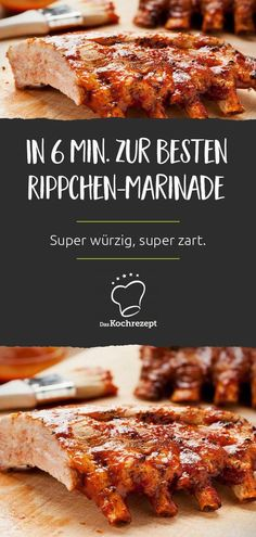 Rib marinade - This is how you prepare the rib meat super tender and super spicy in just a few minutes. Dutch Oven Ribs, Easy Oven Baked Ribs, Baked Bbq Ribs, Easy Baked Pork Chops, Barbecue Pork Ribs, Homemade Shake And Bake, Shake And Bake Pork, Roast Pork Chops, Juicy Pork Chops