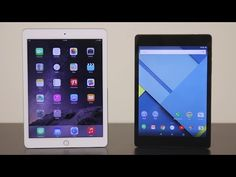 Nexus 9 vs iPad Air 2 - Which is my Favorite? - YouTube