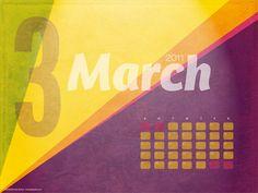 !¡ Calendar March, Hello March, Desktop, Wallpaper, Wallpapers
