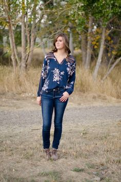 Marisa Top #FallFashion #FallTrends #SuburbanGirlBoutique #Clothes #Shirt