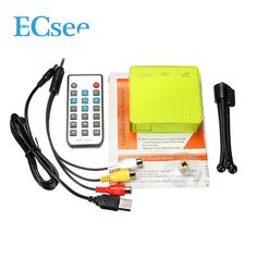 ECsee ES130 Mini DLP Projector HDMI White Green Portable Home Theater Multimedia Beamer 1080P