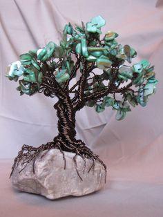 Gemstone Wire Tree.