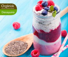 Desayuno Power - GOXO Yogurt Smoothie con Berries y Chia #superalimentos #kosher #vegetariano #fitness #libredealergenos #libredegluten #libredecaseina #supplementosnutricionales #alimentosfuncionales #wellness #longevity #comunidadrusaenChile #comunidadjaponesaenChile #comunidadangloenChile #trigo #serraceno #superfoods #alimentosfermentados #newlevel