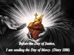"""from """"Divine Mercy in My Soul"""" by St. Faustina."""