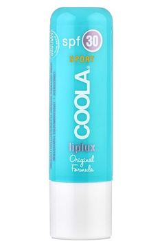 COOLA® Suncare 'Liplux' Sport Lip Treatment SPF 30 is a must to protect your lips. The sun ages our lips too!