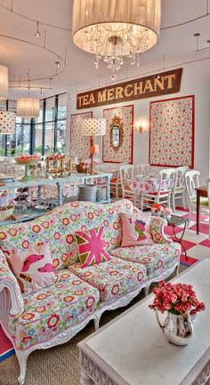 San Francisco's Crown and Crumpet Tea Room....Amazing and Lovely. :)