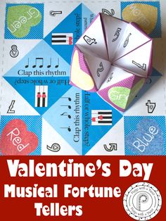 Looking for a fun musical game or a creative valentine for your music students? Your students will LOVE reviewing their theory with these musical fortune tellers.
