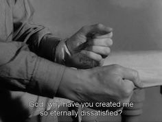 "Ingmar Bergman's ""Winter Light"" Olgierd Von Everec, The Modern Prometheus, Citations Film, Victor Frankenstein, Ingmar Bergman, A Little Life, Winter Light, Movie Lines, Film Quotes"
