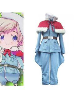 Hetalia: Axis Powers Tino Vainaminen Cosplay Outfits Costumes
