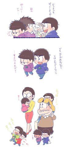 おそ松さん Osomatsu-san 家族でお出かけ③