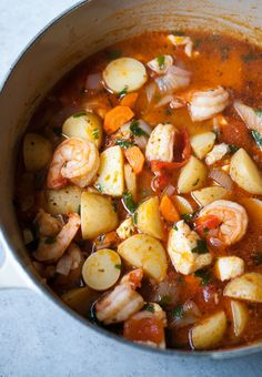 Seafood & Potato Stew