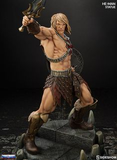 We have the power! Introducing Sideshow's He-Man Statue from Masters of the Universe   Sideshow Collectibles