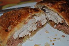Hoy te traigo una de las recetas preferidas de mi novio: pollo wellington. Ésta es una receta perfecta para cualquier ocasión, ya que no nos lleva mucho tiempo, con una presentación estupenda y de lo mejor que has probado nunca. Ingredientes para elpollo wellington (para 2 personas) necesitaremos: 2 pechugas de pollo, una cebolla, paté … Sandwiches, Food, Good Food, Eating Well, Cooking Recipes, Onion, Eten, Paninis