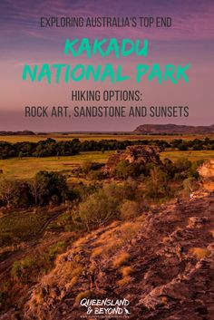 Kakadu National Park in Australia's Top End has myriad walking trails, from short 30 min walks to day hikes. Here are some #hiking options to help you make the most of your time in Kakadu! |  Queensland & Beyond | #Australia #Kakadu #walks