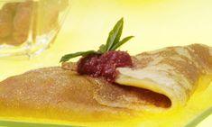 Receta de Crepes de mango y manzana