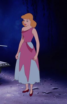 Cinderella pink dress pictures