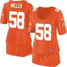 406b869c1ce Von Miller Limited Nike Breast Cancer Awareness Von Miller Limited Jersey  at Broncos Shop.