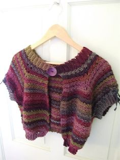 55fad9be5c8cc9 Chic Easy Shrug – Free Shrug Knitting Patterns