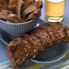 Southern grilled BBQ ribs are a southern classic! If you haven't had some yet, you're missing out. #tryittuesday