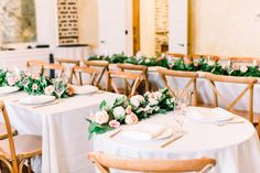 Lux & Union is a creative floral design studio based in Charleston, SC., specializing in wedding and special event floral work. Rose Garland, Sweetheart Table, Charleston, Floral Design, Table Decorations, Creative, Wedding, Home Decor, Valentines Day Weddings