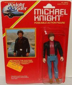 KENNER: 1982 Knight Rider Michael Knight Action Figure