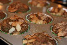 Carrot, Banana & Kale FODMAP-friendly muffins
