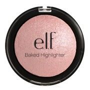 this elf baked highlighter (MOONLIGHT PEARLS) is so beautiful. For the price, it is an AWESOME highlighter. My only complaint is that it doesn't last THAT long. All Things Beauty, Beauty Make Up, Diy Beauty, Beauty Hacks, Beauty Tips, Mac Warm Soul, Elf Highlighter, Elf Products, Beauty Products