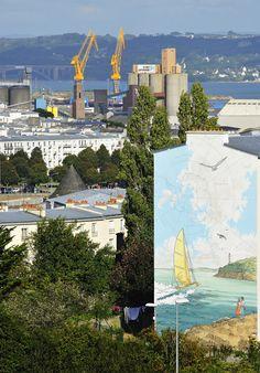 Fresque port de Brest
