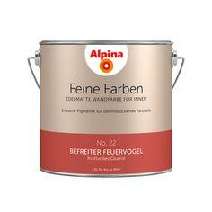 Alpina Feine Farben No. 22 – Befreiter Feuervogel. #Design #DIY #Farbe…