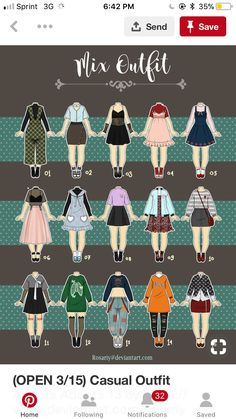 Cartoon Drawing Tips Dress Drawing, Drawing Clothes, Art Reference Poses, Drawing Reference, Drawing Tips, Anime Outfits, Girl Outfits, Casual Outfits, Arte Fashion