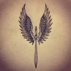 Resultado de imagem para angels girls draw tribal design
