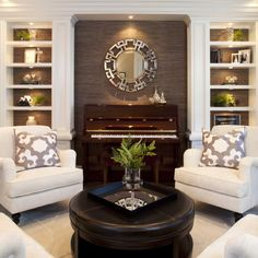 Perfection for the piano room!  wondering if I can fit two matching seats in my room