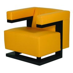 Armchair, designed by Walter Gropius of his office at the Dessau Bauhaus.