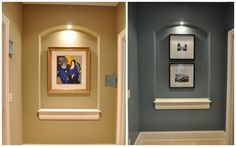 Benjamin Moore Mountain Laurel - Evolution of Style: Family Room Painted with a Side of Painters Remorse