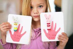 Finger puppet - Homemade Valentine's Day Cards for Kids I Valentine's Day Activities for Kids - ParentMap