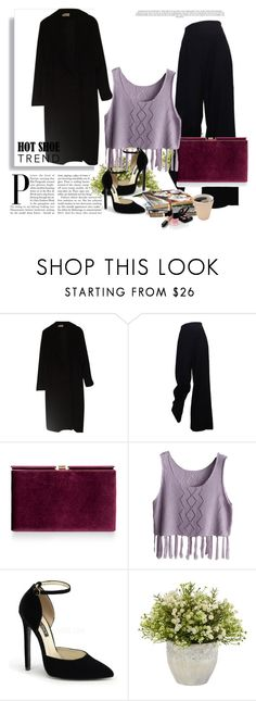 Black baby by belmabajic on Polyvore featuring moda, Calvin Klein, Monsoon, Nearly Natural and Chanel