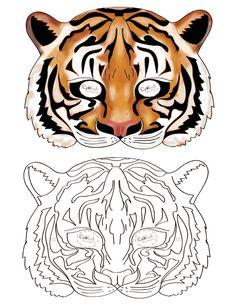 Printable Tiger Mask - Coolest Free Printables